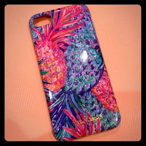Lilly Pulitzer iPhone 7 Pineapple Case